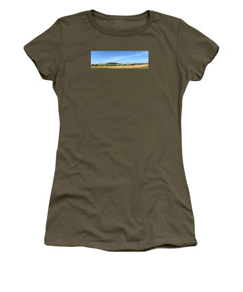 Women's T-Shirt (Junior Cut) featuring the photograph Holmes County Ohio by Gena Weiser