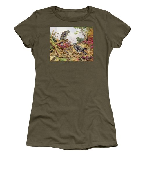 Honey Buzzards Women's T-Shirt (Athletic Fit)