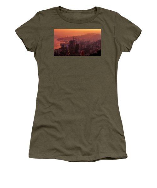 Hong Kong City View From Victoria Peak Women's T-Shirt