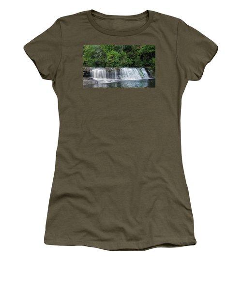 Hooker Falls Women's T-Shirt (Junior Cut) by Steven Richardson