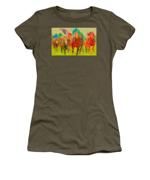 Horse Tracking Women's T-Shirt