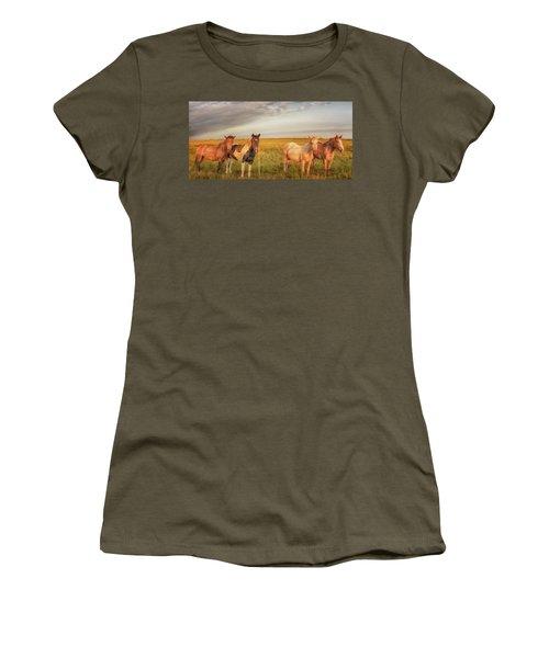 Horses At Kalae Women's T-Shirt