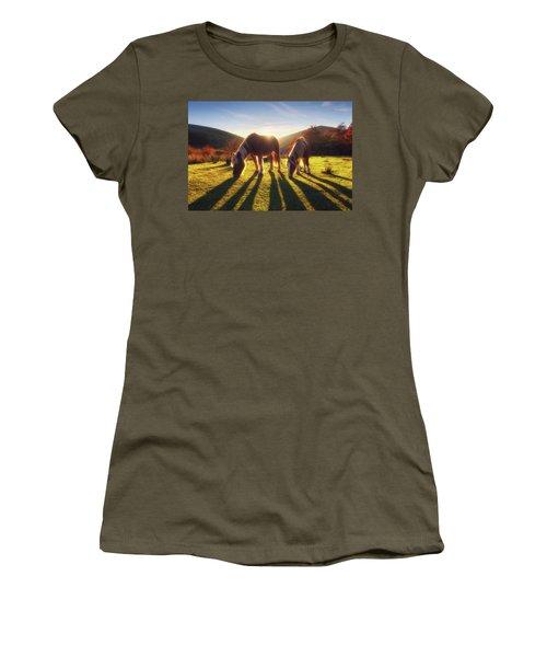 Horses In Austigarmin Women's T-Shirt