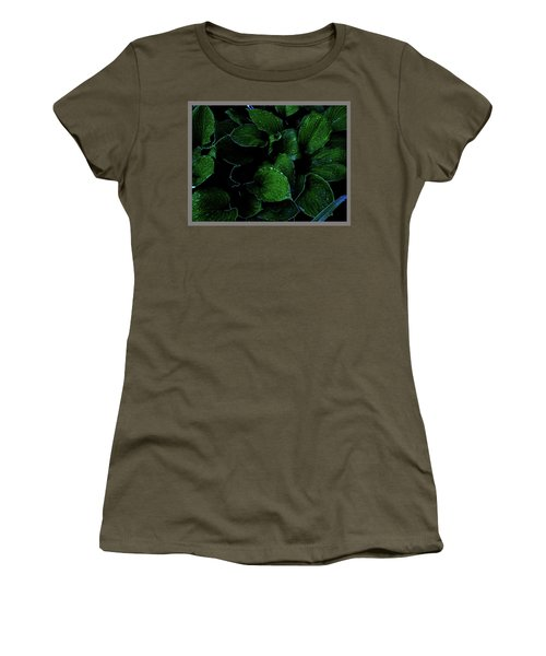 Hostas After The Rain II Women's T-Shirt