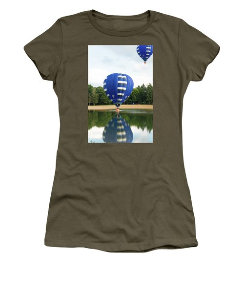 Hot Air Balloon Women's T-Shirt (Athletic Fit)