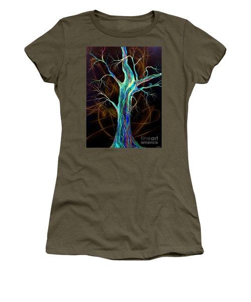 Hot Blue Blood Women's T-Shirt