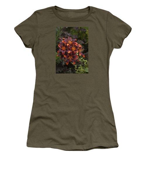 Hot Bouquet Women's T-Shirt (Athletic Fit)