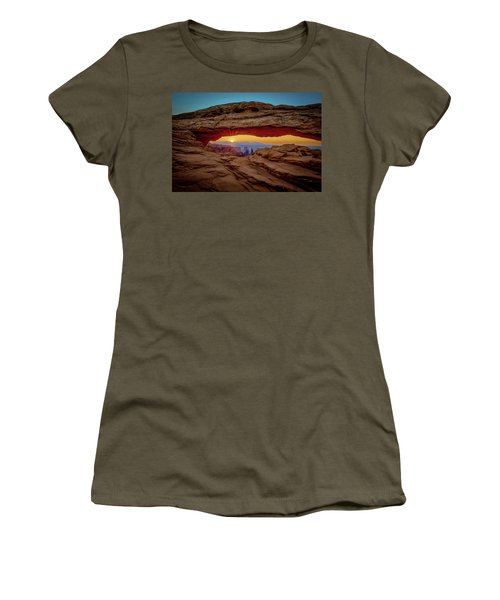 Hot Women's T-Shirt (Athletic Fit)