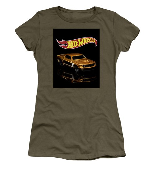 Hot Wheels '69 Ford Mustang 2 Women's T-Shirt
