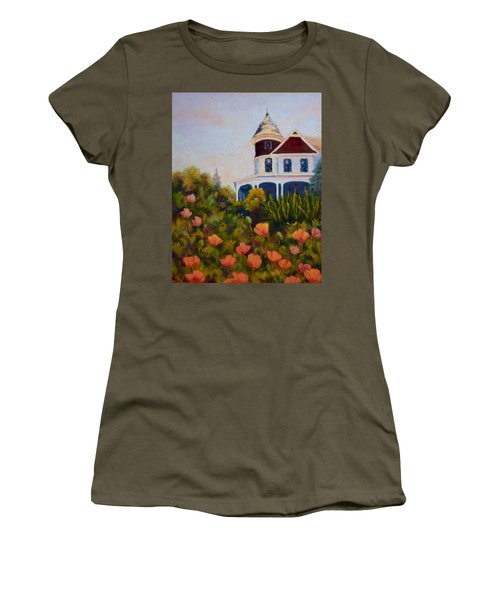 House On The Hill Women's T-Shirt (Athletic Fit)