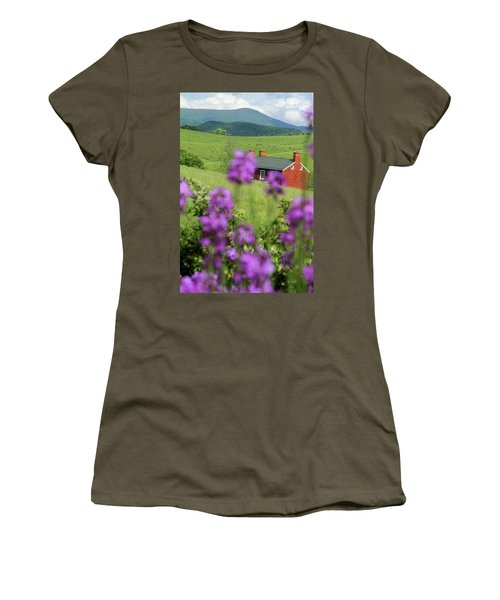 House On Virginia's Hills Women's T-Shirt (Athletic Fit)
