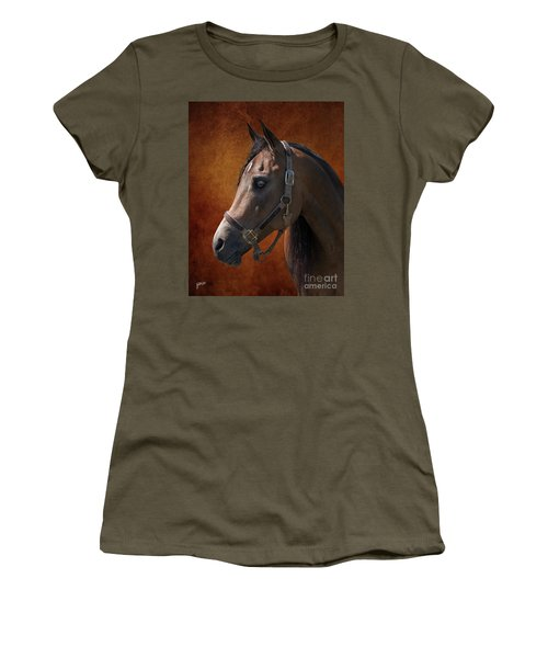 Houston Women's T-Shirt (Junior Cut) by Jim  Hatch