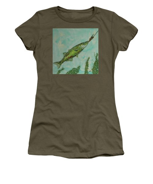 Hungry Women's T-Shirt (Junior Cut) by Terry Honstead