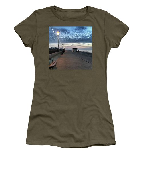 Hunstanton At 5pm Today  #sea #beach Women's T-Shirt