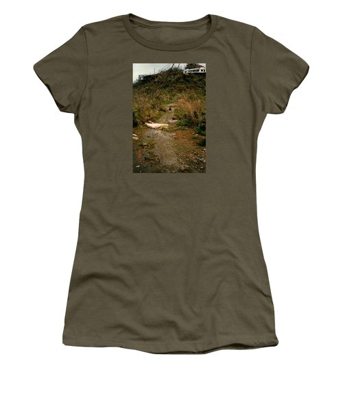 Hurricane12 Women's T-Shirt (Junior Cut) by Robert Nickologianis