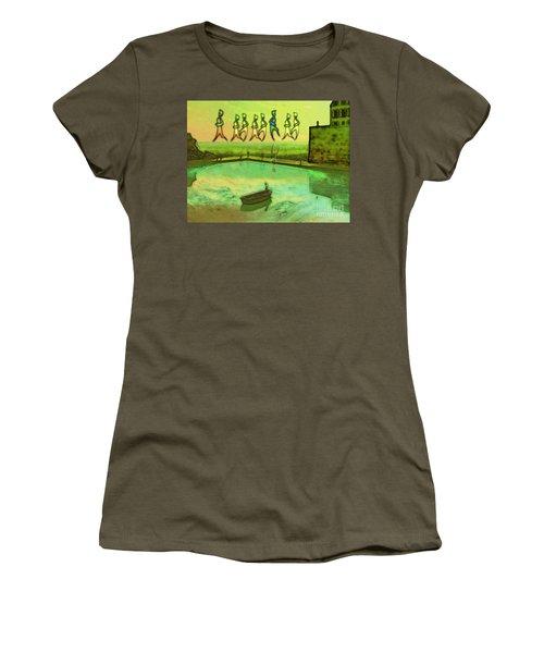 I Wasn't Born To Follow Women's T-Shirt (Junior Cut) by Mojo Mendiola