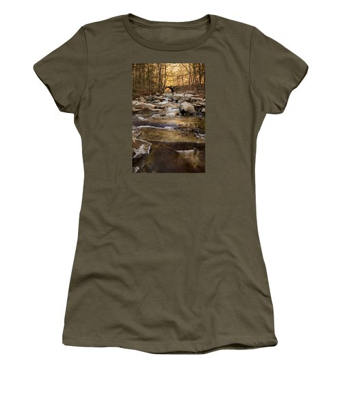 Ice On Stickney Brook Women's T-Shirt (Athletic Fit)