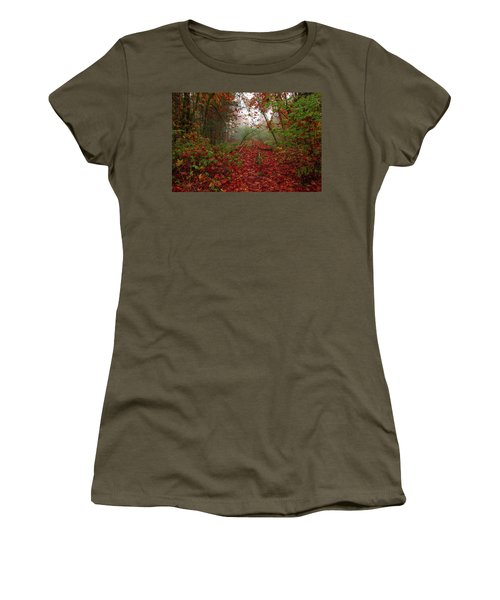 If Your Train Of Thought Is Going Nowhere Change Tracks.  Women's T-Shirt