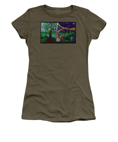 Il Paradiso Il Modello Della Genesi Women's T-Shirt