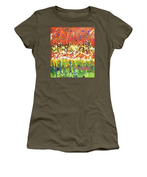 Imagine Happiness Women's T-Shirt