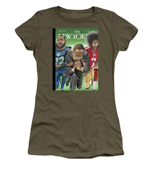 In Creative Battle Women's T-Shirt (Athletic Fit)
