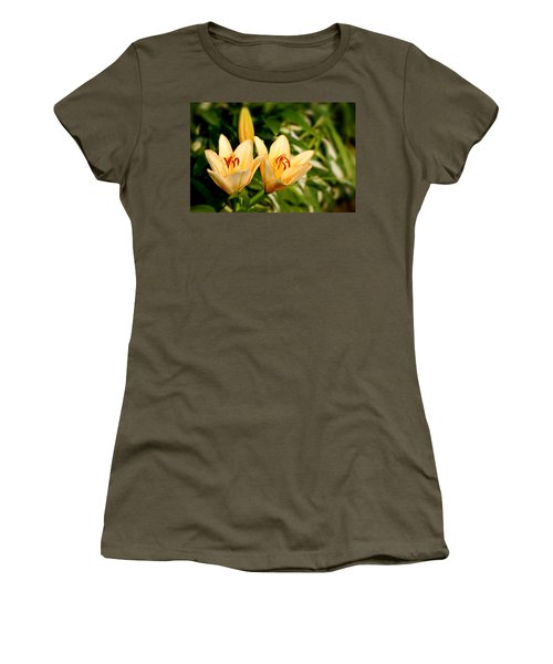 Women's T-Shirt featuring the photograph In The Beginning by Angie Tirado