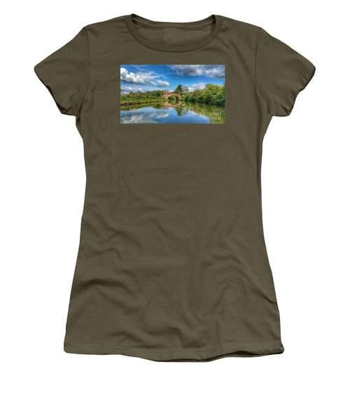In The Dream Women's T-Shirt (Junior Cut) by Isabella F Abbie Shores FRSA
