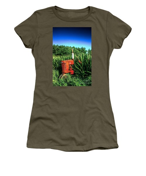 Women's T-Shirt (Junior Cut) featuring the photograph In The Midst by Randy Pollard