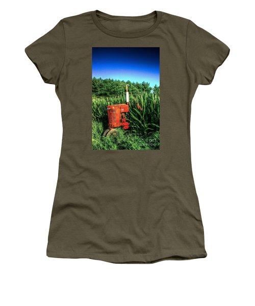 In The Midst Women's T-Shirt (Junior Cut) by Randy Pollard