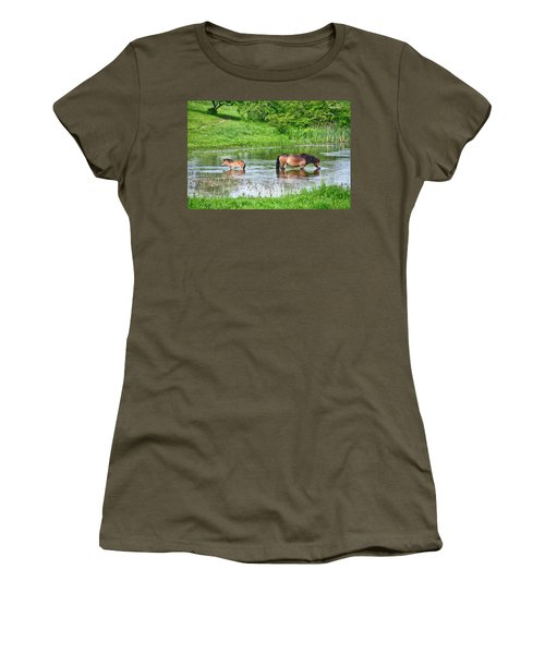 In The Puddle 1 Women's T-Shirt