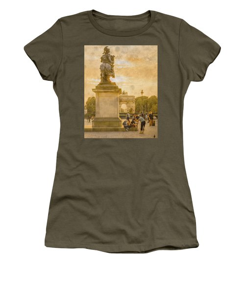 Paris, France - In The Shadow Of Glory Women's T-Shirt