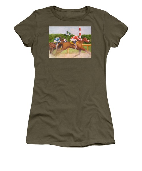 In The Turn Women's T-Shirt (Athletic Fit)