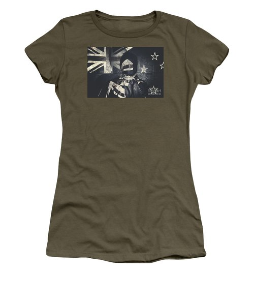 Inauspicious The Tale Of A Defaced Democracy Women's T-Shirt