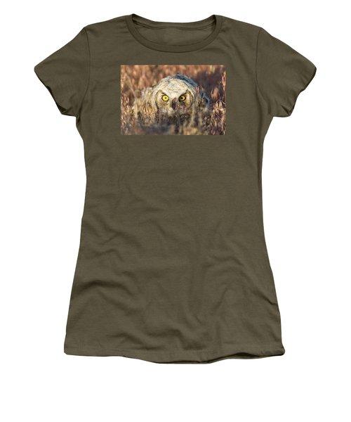 Incognito Women's T-Shirt (Junior Cut) by Scott Warner