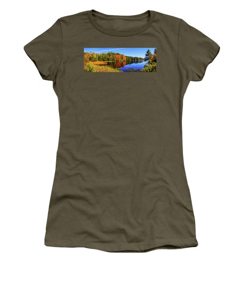 Women's T-Shirt (Junior Cut) featuring the photograph Incredible Pano by Chad Dutson