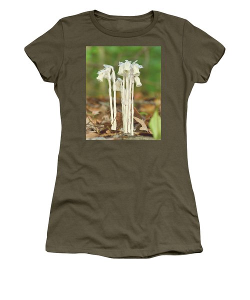 Indian Pipes Women's T-Shirt (Junior Cut)