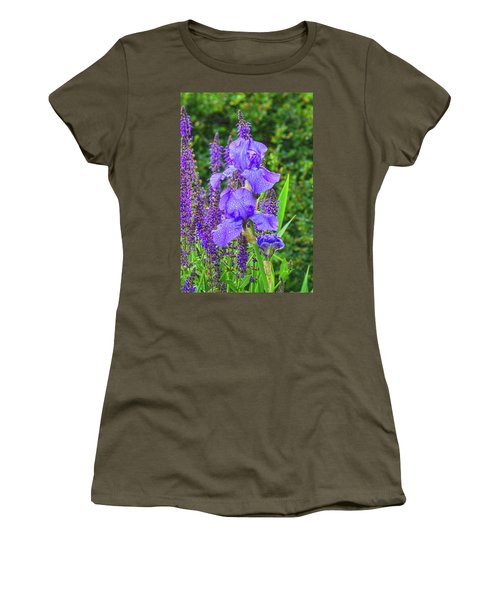 Indigo In Nature  Women's T-Shirt (Junior Cut) by Bijan Pirnia