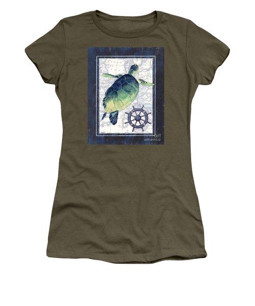 Indigo Maritime 1 Women's T-Shirt
