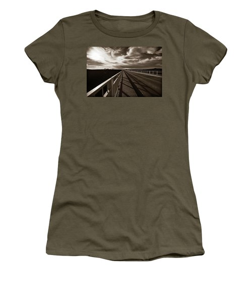 Women's T-Shirt (Junior Cut) featuring the photograph Infinity by Marilyn Hunt