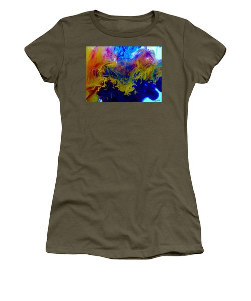 Ink Explosion 9 Women's T-Shirt (Athletic Fit)