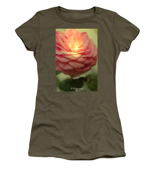 Inner Glow Women's T-Shirt (Junior Cut) by Betty Northcutt