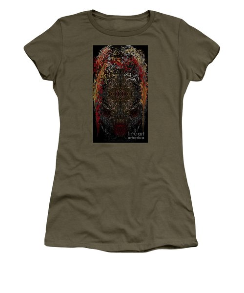 Women's T-Shirt featuring the digital art  Insecticidal  by Reed Novotny