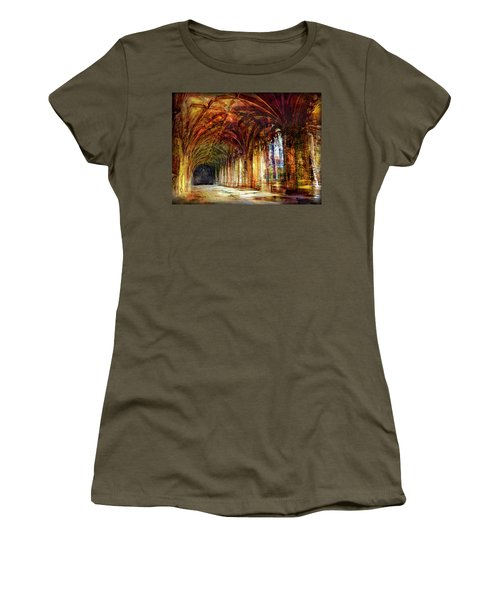 Inside 2 - Transit Women's T-Shirt (Junior Cut) by Alfredo Gonzalez