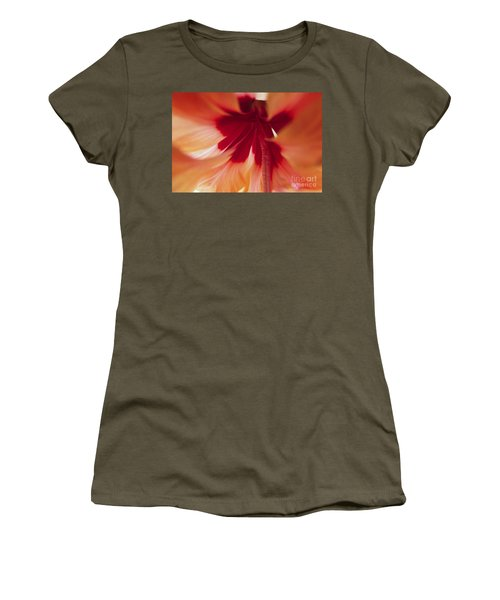 Inside Hibiscus Women's T-Shirt