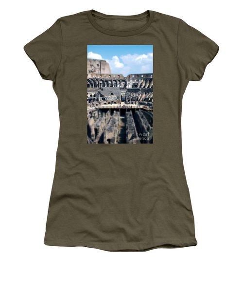 Inside The Colosseum Women's T-Shirt