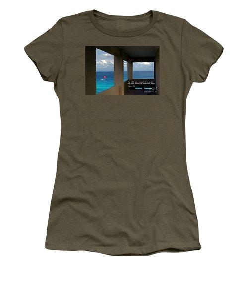 Inspirational - Picture Windows Women's T-Shirt
