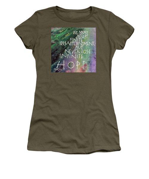 Inspirational Saying Hope Women's T-Shirt