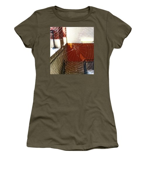 Women's T-Shirt featuring the photograph Intact Abandonment by Robert Knight