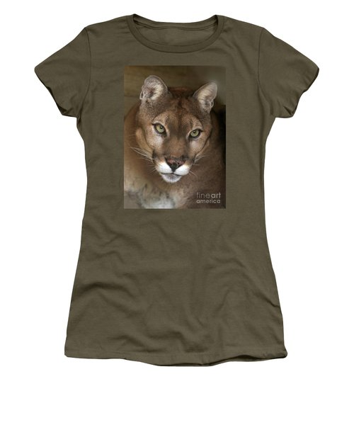 Intense Cougar Women's T-Shirt (Athletic Fit)