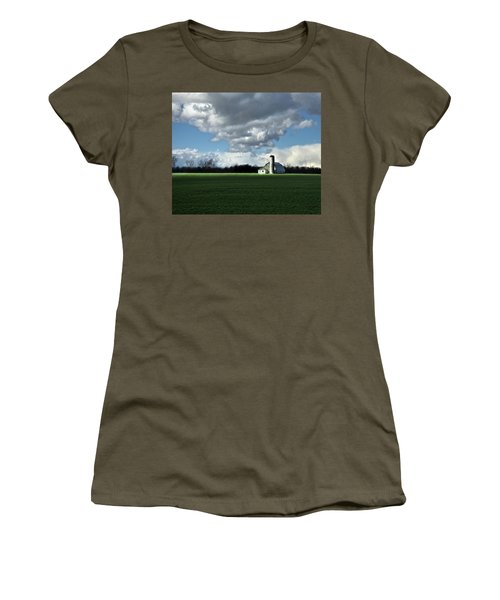 Women's T-Shirt (Junior Cut) featuring the photograph Interlude by Robert Geary